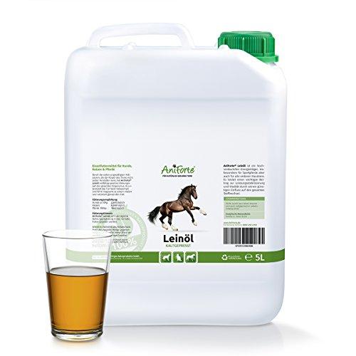 aniforte-kaltgepresstes-leinol-5-liter-naturprodukt-fur-hunde-katzen-pferde