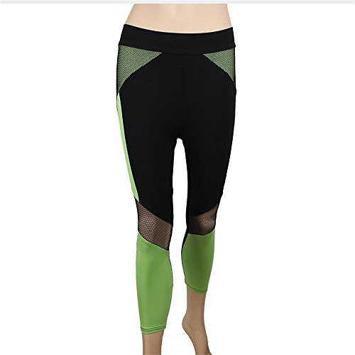 Ytdzsw Fitness Yoga Sport Leggings Für Frauen Sport Gym Yoga Workout Laufhose Fitness Elastische Leggings-XL