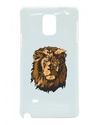 Smartphone Case testa di leone per APPLE IPHONE 4/4S, 5/5S, 5C, 6/6S, 7& Samsung Galaxy S4, S5, S6, S6Edge, S7, S7Edge Huawei HTC-Divertimento Motiv di culto Idea Regalo Pasqua N