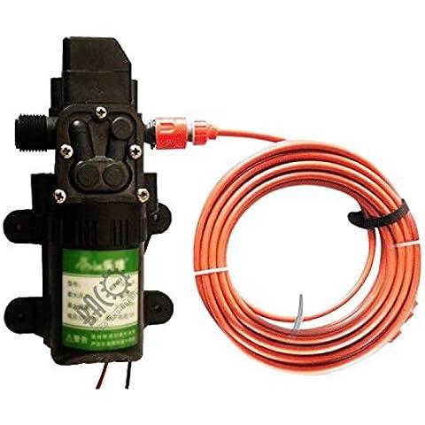 BACOENG alta pressione portatile per lavaggio auto pompa auto pompa elettrica, Black Pump Kit