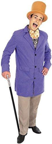 torian Factory Owner Fancy Dress Costume Size 34/36Small (Kostüm) (Herren Willy Wonka Kostüme)