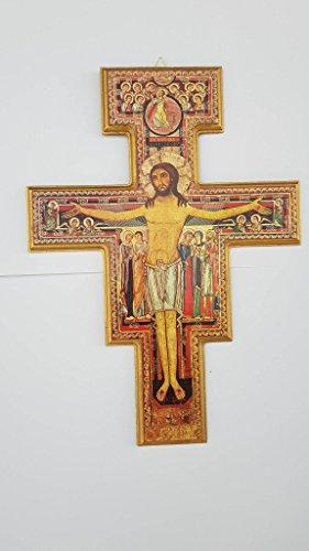 Kruzifix-Wandart: KREUZ SAN DAMIANO RELIEF