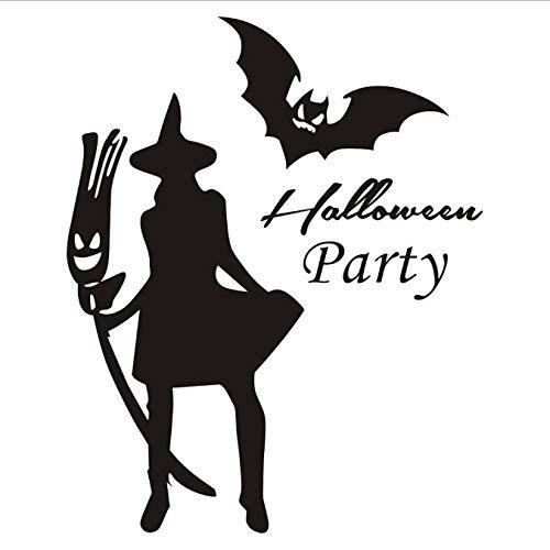 WHDKPL Happy Halloween Home Haushalt Zimmer Wandaufkleber Wanddekor Aufkleber Abnehmbare Neue