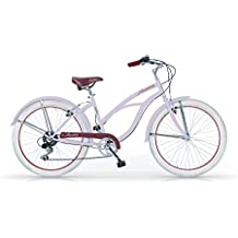 MBM HONOLULU WOMAN MUJER CRUISER CUSTOM 26'' BICYCLE BIKE BICICLETA 6S LAVENDA