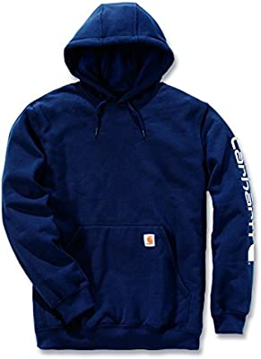 Carhartt Sweatshirt Sleeve Logo Hooded