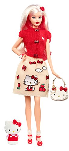 Barbie DWF58 Signature Hello Kitty Puppe, Mehrfarbig