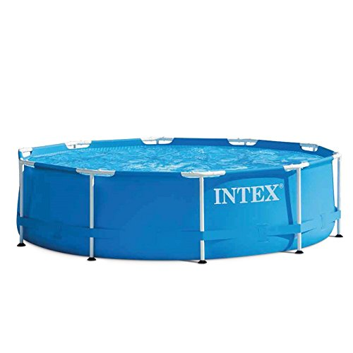 Metall-frame Pool-set (Intex Aufstellpool Frame Pool Set Rondo, Blau, Ø 305 x 76cm)
