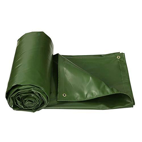 Preisvergleich Produktbild Planen Poncho Wasserdicht Sonnencreme Schatten Frostschutzmittel Linoleum Tuch Mehrere Größen Können Angepasst Werden GMING (Farbe : Grün,  größe : 4x5M)