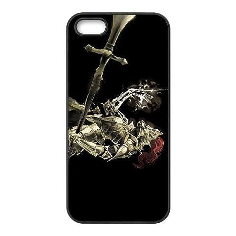 Dark Souls iPhone 55S Téléphone portable Coque Noir