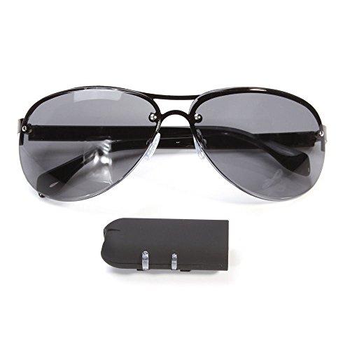 BYD - HD 720p spia nascosta DVR videocamera occhiali da sole sport videocamera registratore Mini DV videocamera indossab