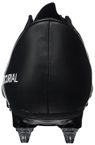 Nike Herren 831967-013 Fußballschuhe Mehrfarbig (Black/Wht-Elctrc GRN-Prmnt Bl)
