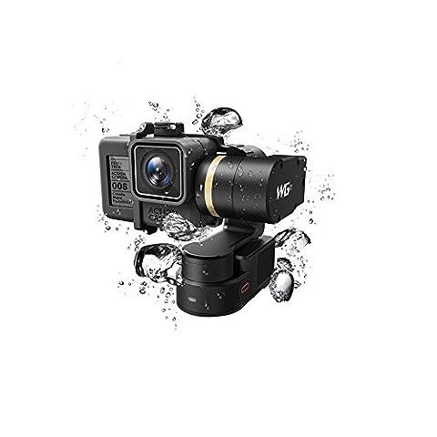 FeiyuTech WG2FY tragbar Gimbal Wasserdicht Stabilisator für GoPro Hero 5Session/4Session und ähnlicher Größe Sport