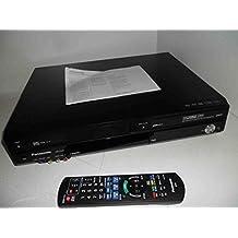Panasonic DMR-EZ48Multi región reproductor de DVD con grabador de vídeo VHS Combi en color negro con transferencia de Freeview–DVD de vídeo o vídeo para DVD–Con Escala 1080HD calidad a través de primerísima Plus USB–MP3–reproducción de DivX, JPEG, VCD–Ranura para tarjeta SD, incluye cable HDMI con cada compra