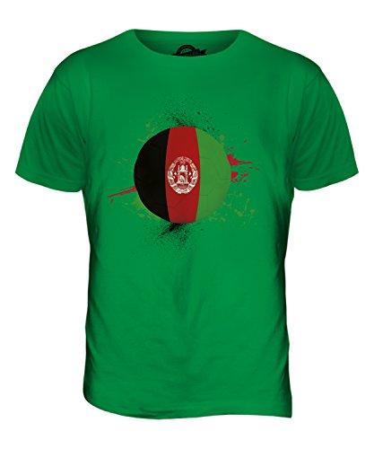 CandyMix Afghanistan Fußball Herren T Shirt Grün
