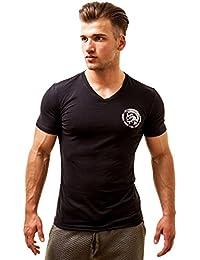 Diesel Homme Michael T-Shirt col V en coton