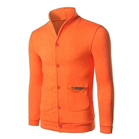 Chemise Homme Armani - Goodsatar Hommes Coton Bouton manches longues à