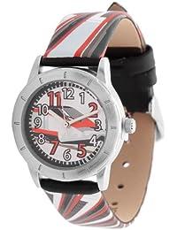 s.Oliver Jungen-Armbanduhr Analog Leder SO-2416-LQ