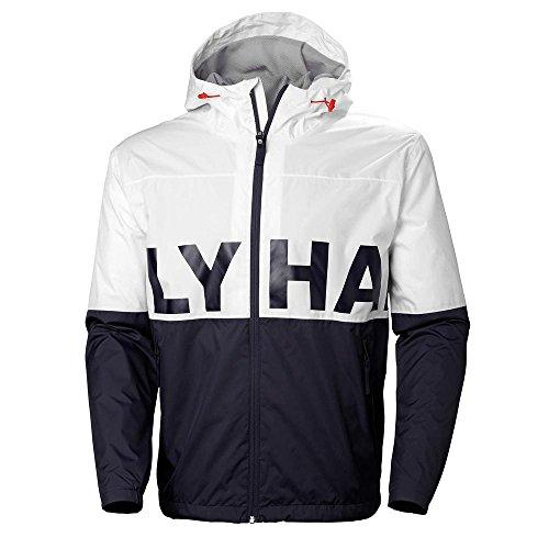 Helly Hansen-casual-jacke (Helly Hansen Amaze Jacket Regenjacke für Herren, Weiß (001 White))