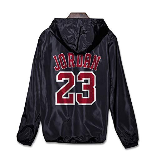 Chicago Bulls Michael Jordan Zip up Hoodies Kapuzenober, Hoodie für Herren Zipper Jacket Hoodies Sweatshirts, Männer Basketball Sport Breathable Kapuzen jacke
