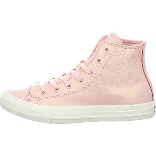 Converse Mädchen Chuck Taylor All Star High Hohe Sneaker, Pink Rosa, 38 EU (Rosa Mädchen Schuhe Converse)