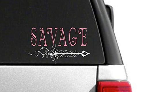 Celycasy-Aufkleber, Auto-Aufkleber, Laptop, Autozubehör, Auto-Dekoration, Auto-Aufkleber, Laptop-Sticker, Savage, Geschenk für sie, Empowerment, Pfeil -