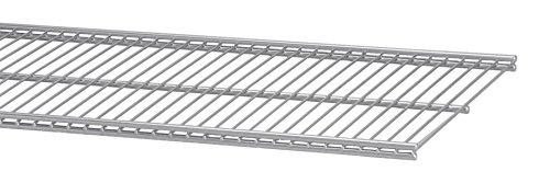 ELFA 45048090x 30mm Draht Regal Klammern–Platin (Draht Regal Klammern)
