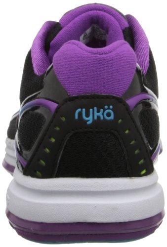 Ryka Devotion Synthétique Chaussure de Course Blk-Ppl-Blu