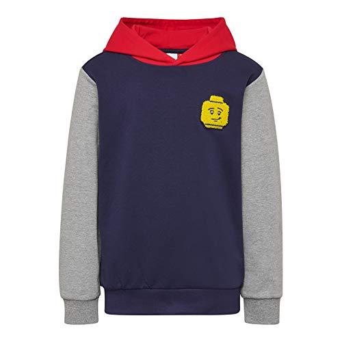 Lego Wear Jungen LWSIAM 652-SWEATSHIRT Sweatshirt, Blau (Dark Navy 590), (Herstellergröße: 104)