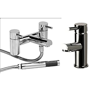 Dalton Basin Mixer Inc Waste And Bath Shower Mixer Tap Pack
