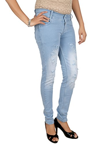 Women's Skinny Fit Jeans  available at amazon for Rs.495