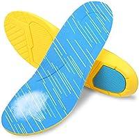 Healifty Einlegesohlen Plantarfasziitis Ferse Fußgewölbestütze Kissen Atmungsaktiv Schuhsohlen Größe 34-37 (Blau... preisvergleich bei billige-tabletten.eu