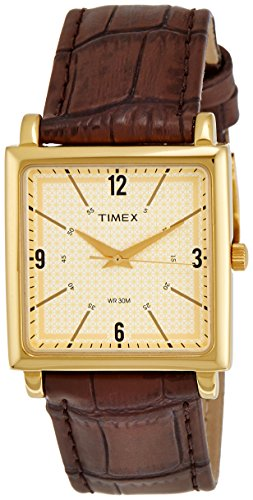Timex Classics Analog White Dial Men's Watch - TI000T20000 image