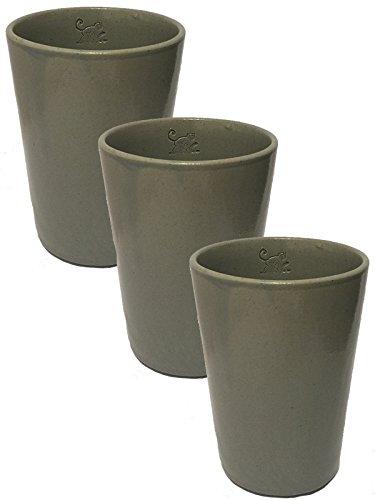 Preisvergleich Produktbild Monkey 47 Ton Becher in Grau 3 Stück