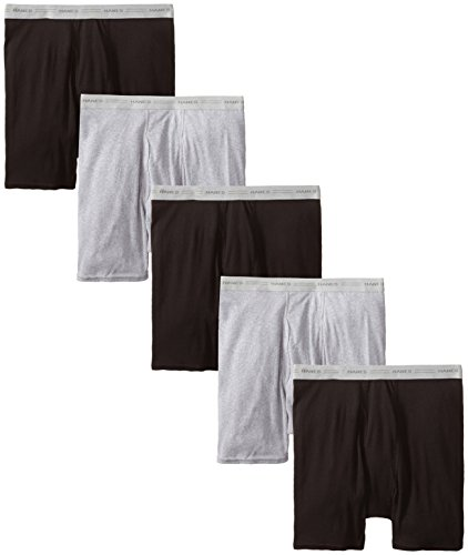 Hanes Men's 2349b7 Red Label of Boxer Briefs (Pack of 7)