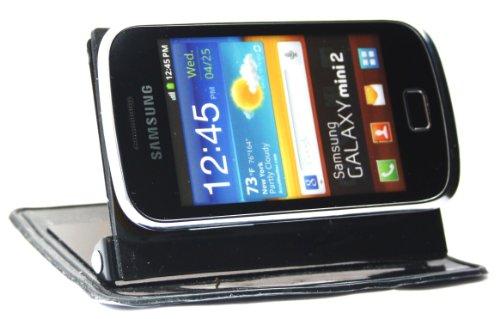 Emartbuy In Car Holder Stand Dashboard Mount (Verticale E Orizzontale) Per Samsung Galaxy Mini 2 S6500 + Screen Protector