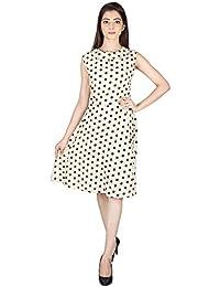 Franclo Women's Polka dot dress