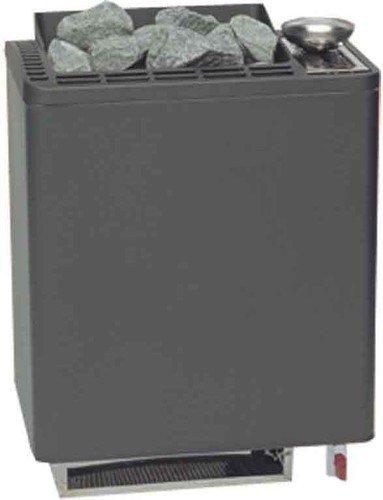 EOS Saunaofen 6,0 kW Bi-O Tec Edelstahl Wandofen Leistung: 6,0 kW Verdampferleistung: 1,5 kW Saunasteine: 15 kg Füllmenge Verdampfer: 5 L Gewicht ohne Steine: 16,5 Kg Steuerung: optional erhältlich elektrischer Anschluss: 400 V