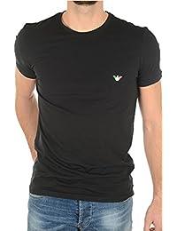 Emporio Armani T-shirt noir Logo Italien