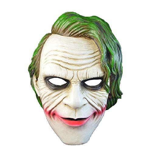 Hölle Clown-Creepy Party Neuheit Horror Masken,Halloween-Kostüm-Party Latex Rubie's Joker Masken, Geeignet Perfekt Für Halloween, Kostüm-Partys, Themen-Partys Etc.Unisex Einheitsgröße