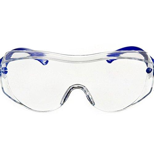 Dräger Schutzbrille X-pect 8120, Geeignet für Brillenträger, Sicherheitsbrille für Baustelle,...