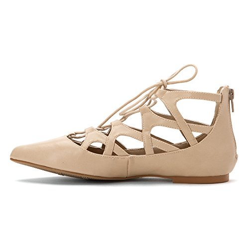 Mia Anamarie Synthétique Chaussure Plate Nude