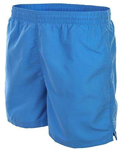 Herren Badehose Trachtenhose / Oktoberfest Badeshort Boardshorts Cool Lässig verschiedene angesagte Trendfarben Sommer Strand 1101-f4511 Farbe: Blau-Türkis, Gr. M (Marine-blau-strand-badetuch)