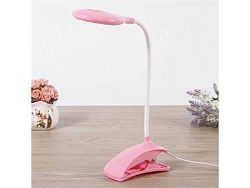 Young shinee Tragbare LED USB wiederaufladbare Lesen LED-Licht Schlafzimmer Nachttischlampe Clip auf Lampe für Kinder Deko-Lampen