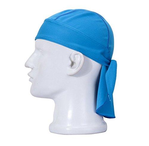 Solide Antitranspirant (Swallowuk Sport Cap Breathable Outdoor Wandern Kopftuch Piratenhut Stirnband (blau))