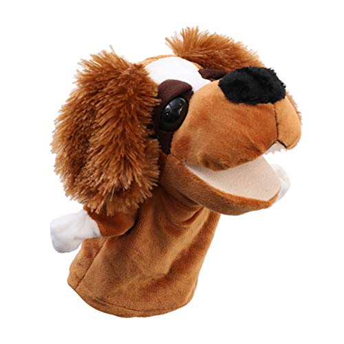STOBOK Bebé Animal Marioneta Mano Perro Historia