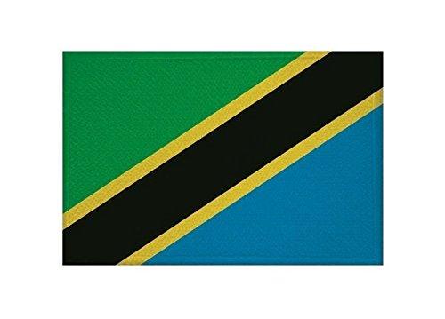 U24 Aufnäher Tansania Fahne Flagge Aufbügler Patch 9 x 6 cm - Tansania Patch