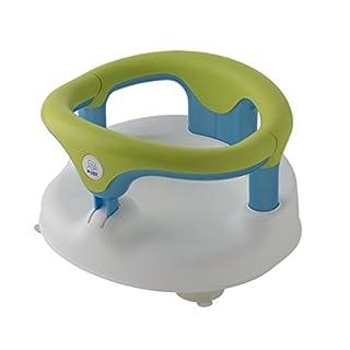 Rotho Babydesign Baby Bath Seat, White/Apple Green/Aquamarine Pearl