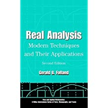 Real Analysis: Modern Techniques and Their Applications (Wiley Series in Pure and Applied Mathematics / A Wiley-Interscience Series of Texts, Monographs, and Tracts, Band 1)
