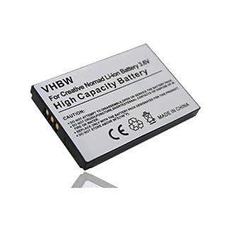 vhbw Li-Ion Akku 900mAh (3.7V) für MP3-Player Creative MUVO2 FM, Nomad MuVo2, Jukebox Zen Xtra, Jukebox Zen NX wie BA0203R79902, 73PD000000005