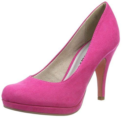 Tamaris Damen 22407 Plateaupumps, Pink, 35 EU